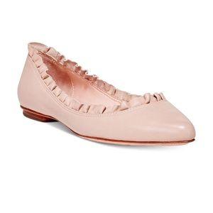 NEW Kate Spade Nicole Ruffle Pointed Toe Flats